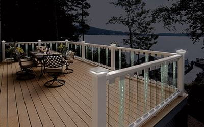 Deckorators Scenic Frontier Glass Balusters