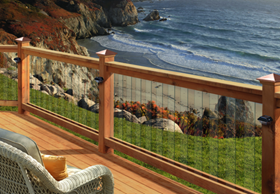 Deckorators Frontier Glass Balusters