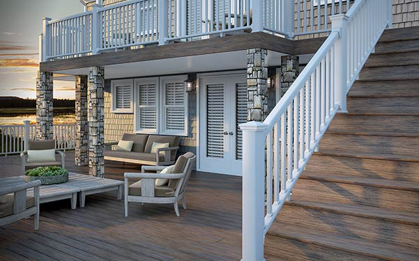 Vista Ironwood decking with CXT Railing
