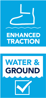 Enhanced Traction and Water Ground Contact