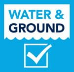 Water and Ground Contact Logo