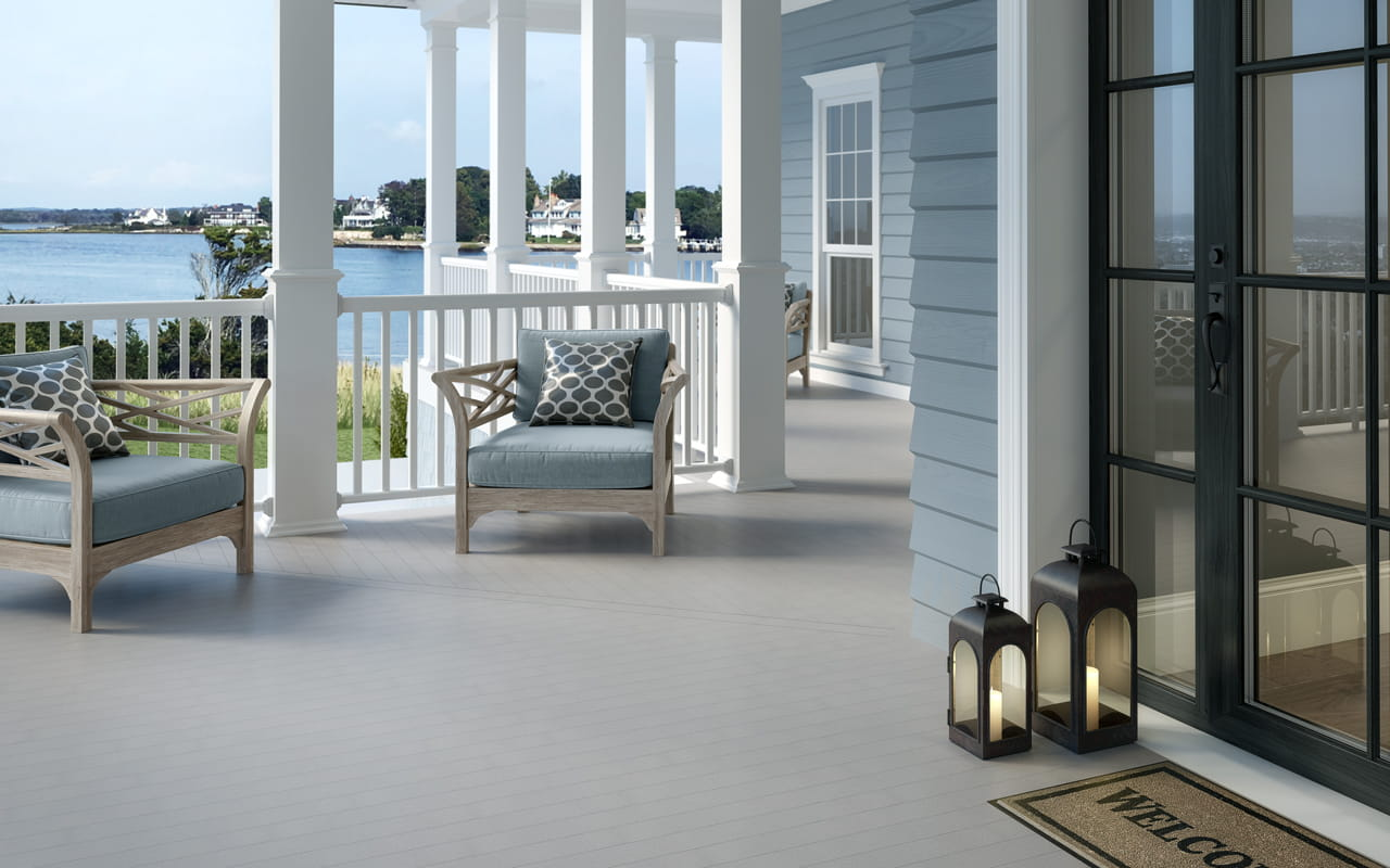 Kettle Gray Porch Flooring