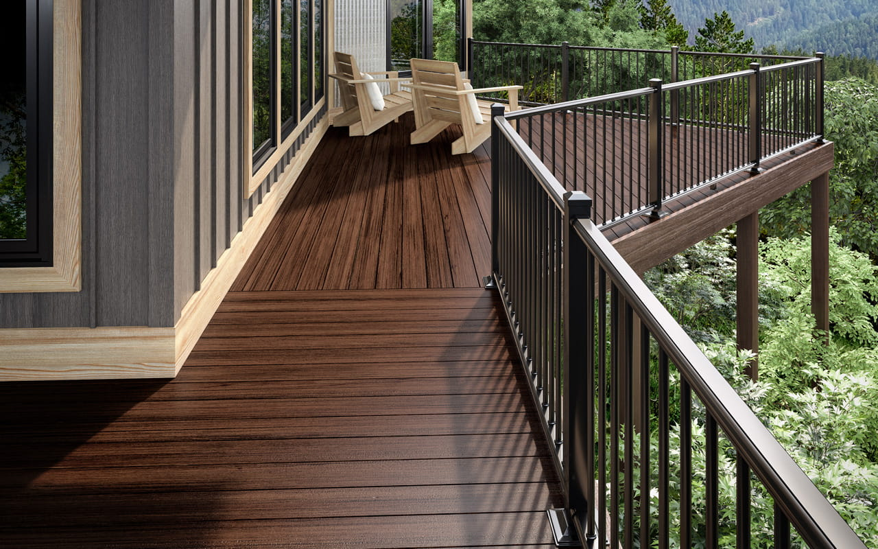 heritage composite decking