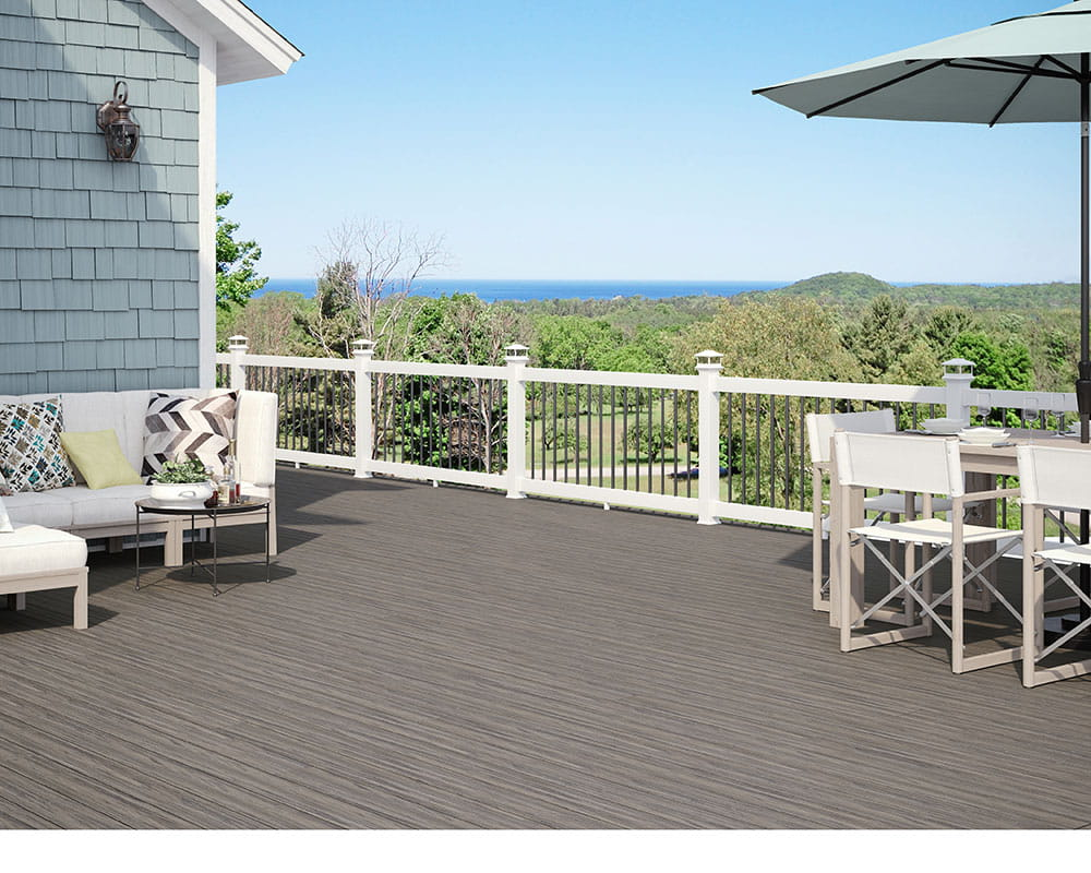 2x4 Composite Railing - Deckorators
