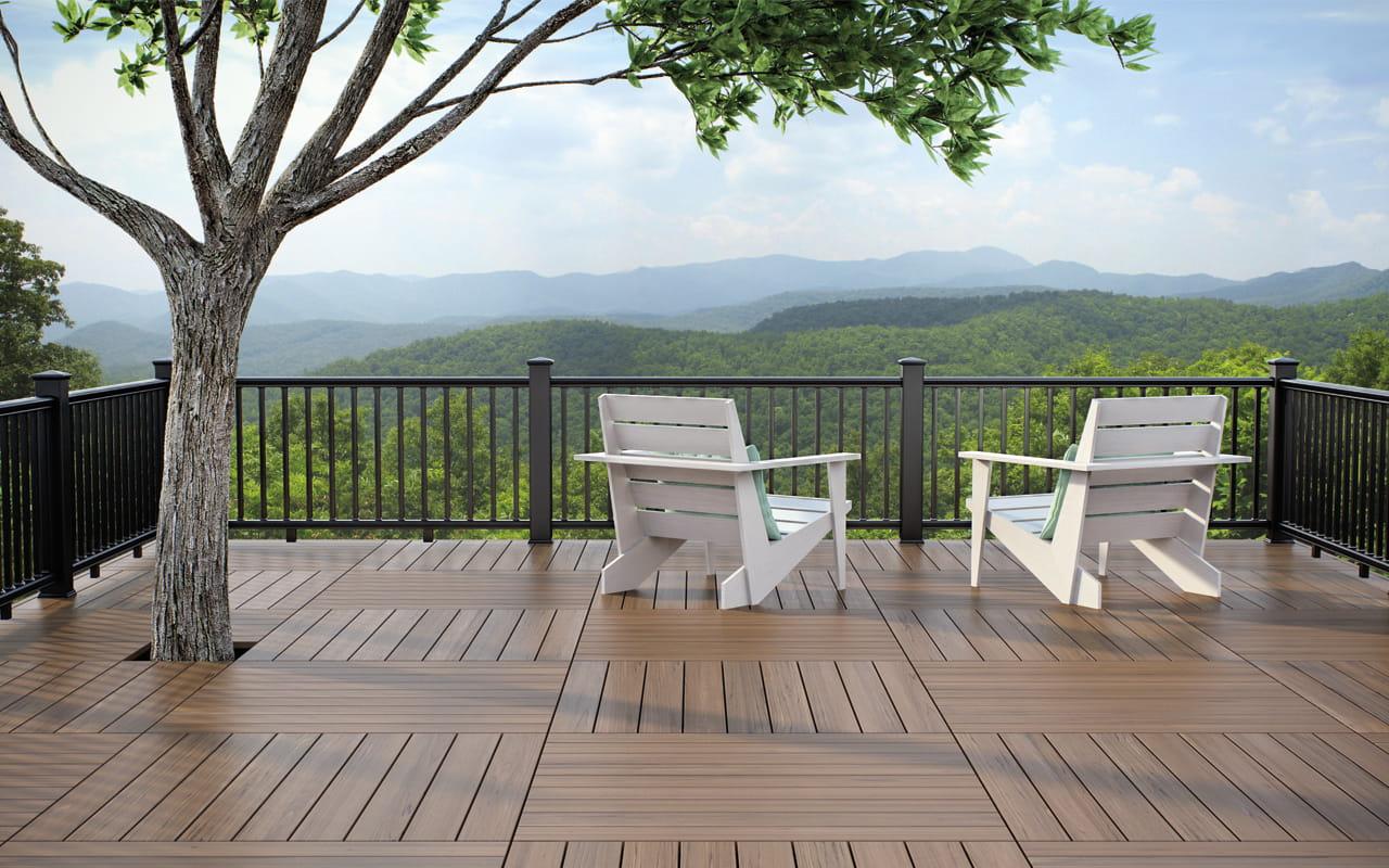 Cxt classic railing deckorators for Garden decking spindles