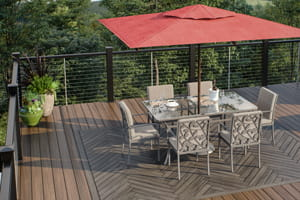 Vista Ironwood Decking with Cable Railing