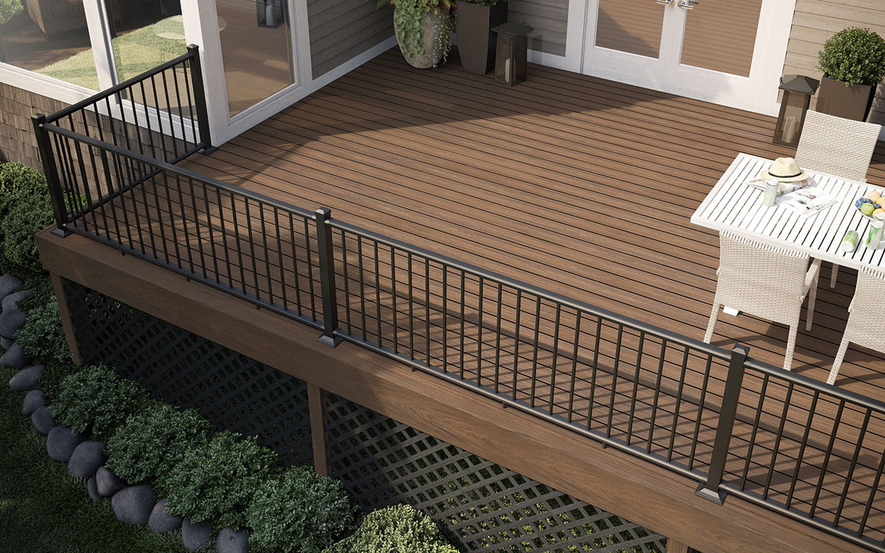 Poteau Bois Pour Terrasse planche de bordure pour terrasse – deckorators