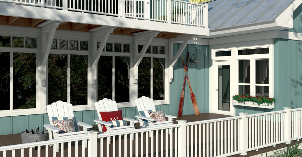 Cxt Pro Colonial Railing Deckorators