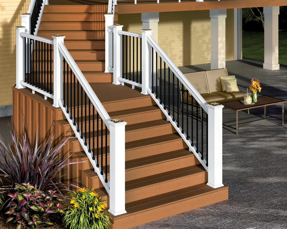 How To Build Flared Deck Steps