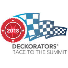 Deckorators Race to the Summit Logo