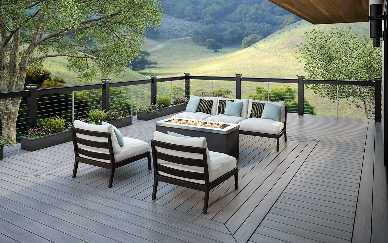 vault composite decking deckorators. Black Bedroom Furniture Sets. Home Design Ideas