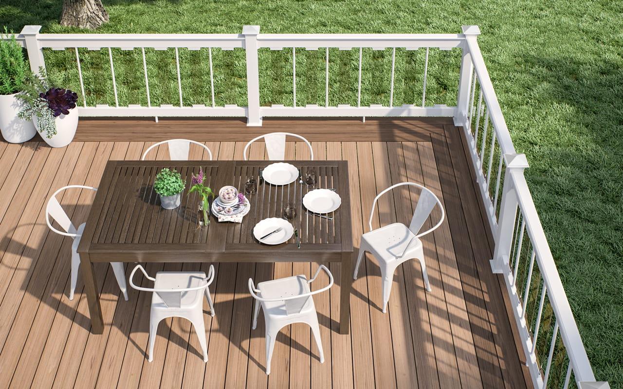 vault composite decking deckorators. Black Bedroom Furniture Sets. Home Design Ideas